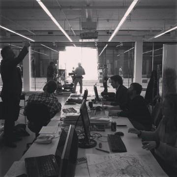 Enric Ruiz-Geli in the Cloud9 office Image credit: Uku Miller