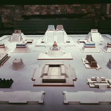 A Pre Hispanic model of Mexico City