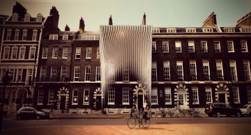 The initial proposal was to create a facade installation Image credit: GUN Architects