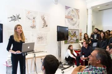Vere presenting for AA Honours Image credit: Eduardo Andreu Gonzalez
