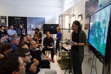 Ioana presenting for AA Honours Image credit: Eduardo Andreu Gonzalez