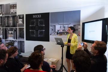 Eugenie presenting for Honours Image credit: Eduardo Andreu Gonzalez