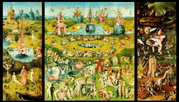 The Garden of Earthly Delights triptych by Hieronymous Bosch