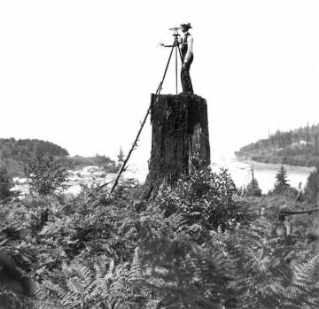 A Master Surveyor reading his surroundings