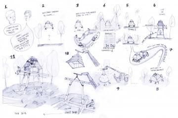 A sketch by Nozomi Nakabayashi