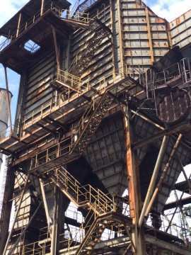 A closer look at the details of the mining structures