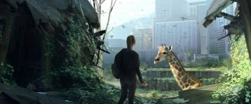 A giraffe, a sign of fresh life, a beacon of hope. This is just one of the few moments that escape the harsh reality of the game's world helping to push the narrative forward and develop the relationship between the two characters.