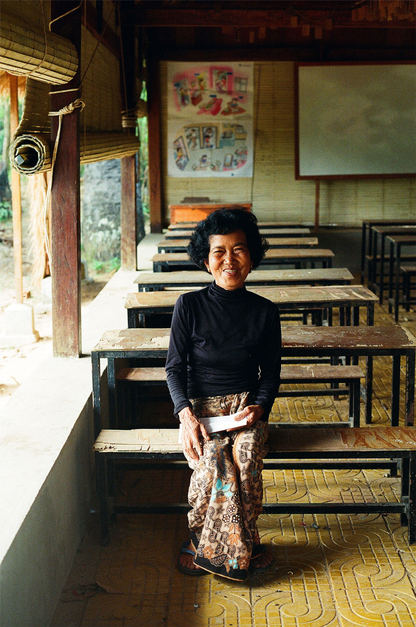Ms Neang, landlady of Khna Rong School