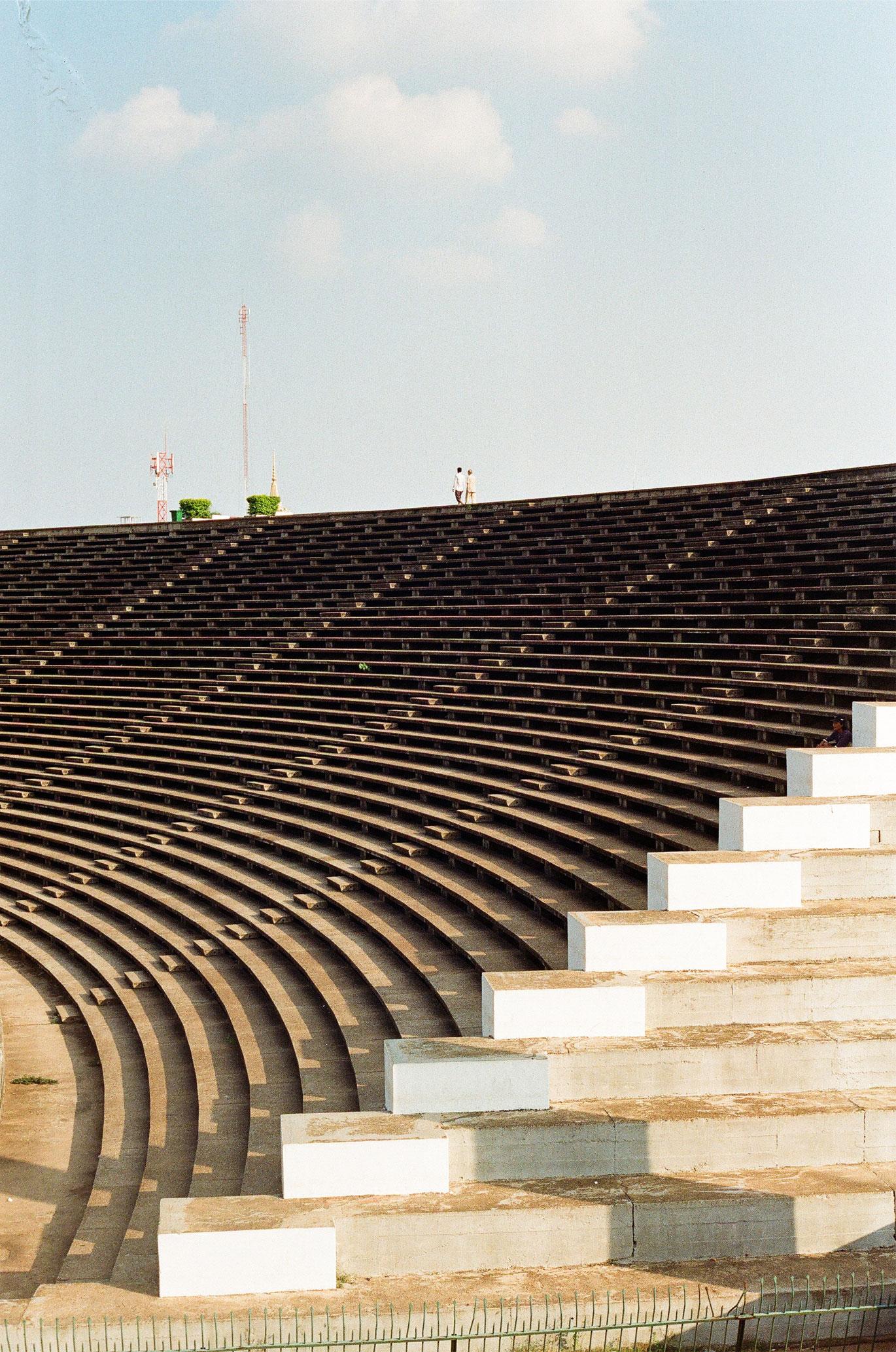 Olympic Stadium Phnom Penh Vann Molyvann