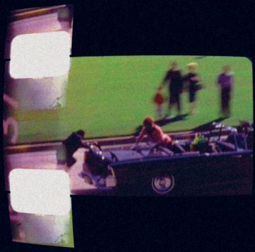 Screenshot of Abraham Zapruder, Frame Z365 of the Assassination of President John F. Kennedy (1963)