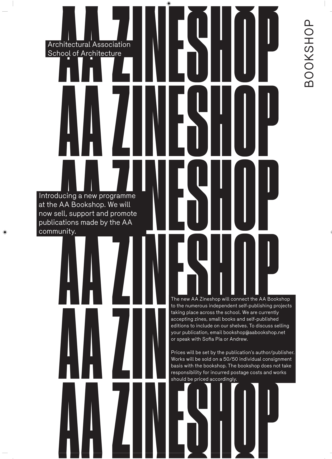 AA ZINESHOP: CALLING FOR SUBMISSIONS