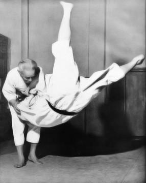 Japanese Judo master Kyuzo Mifune